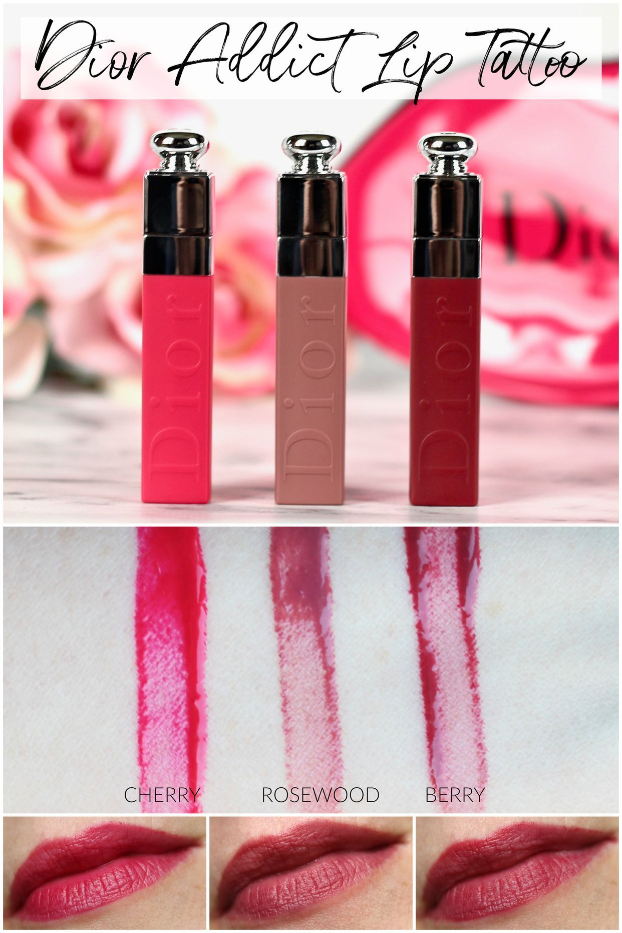 Dior Addict Lip Tattoo Review And Swatches Realizing Beauty