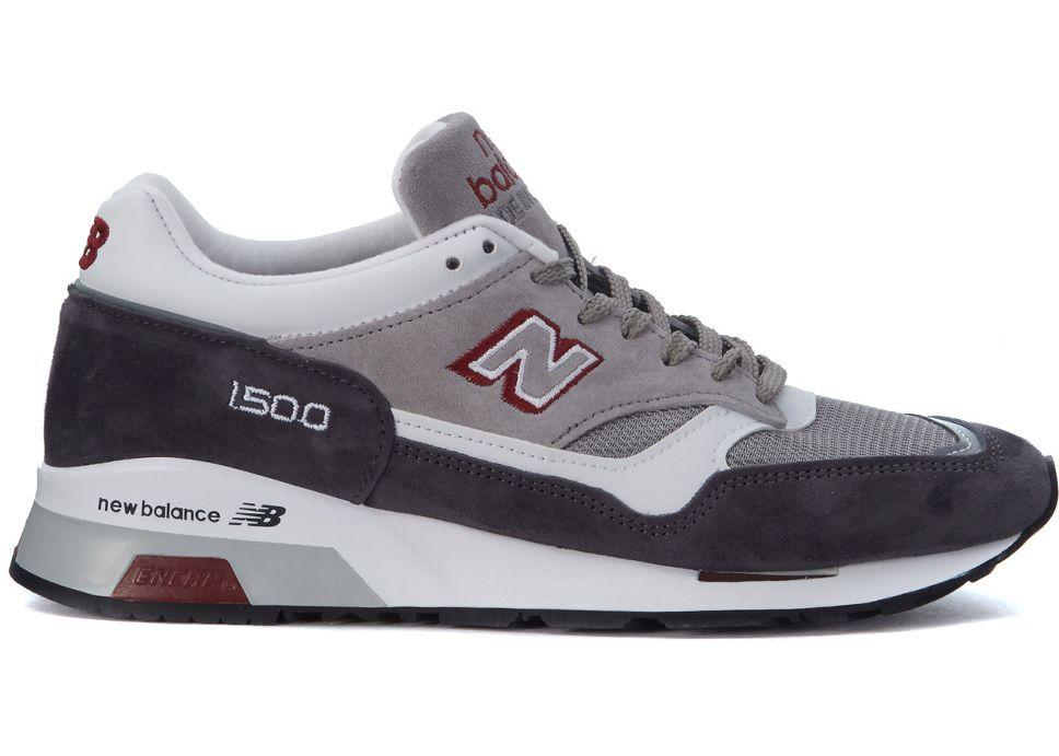 pantofi autentici calitate superioară priza de fabrica New Balance 1500 Red And Grey Sneaker Made In Uk Grey in Romania ...