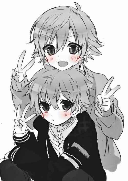 Anime Boy Twins Anime Siblings Anime Child Anime
