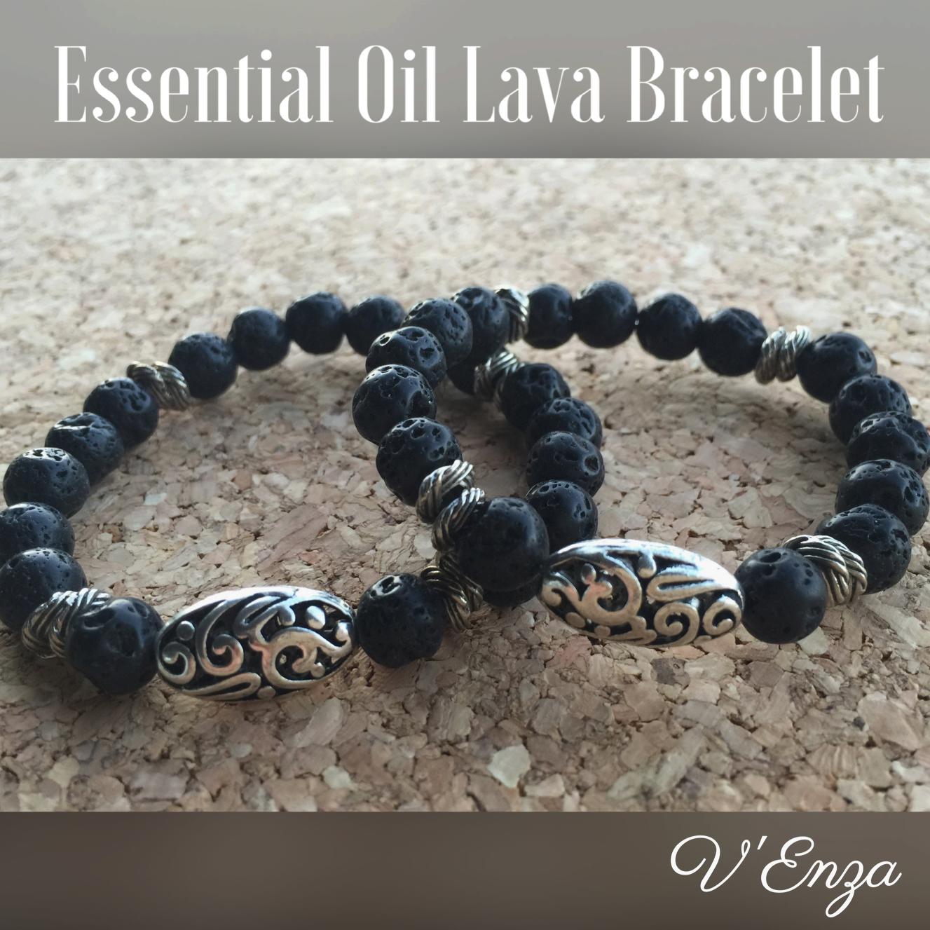 Essential Oil Lava Bracelet