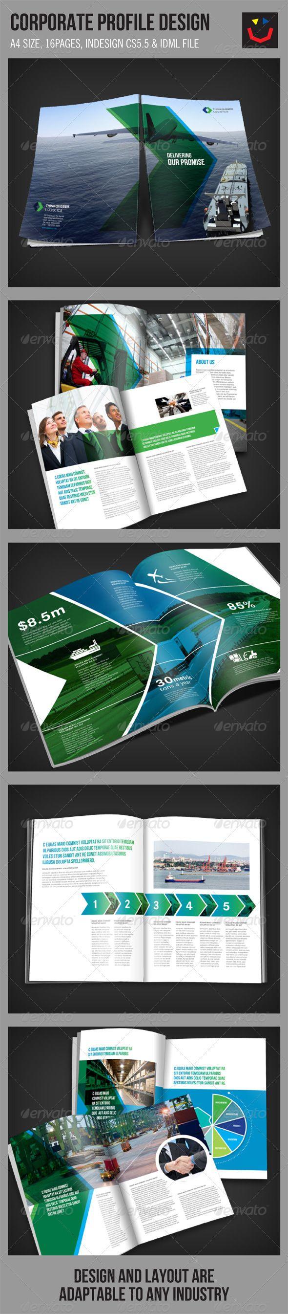 Corporate Brochure Design  Brochures Template And Corporate