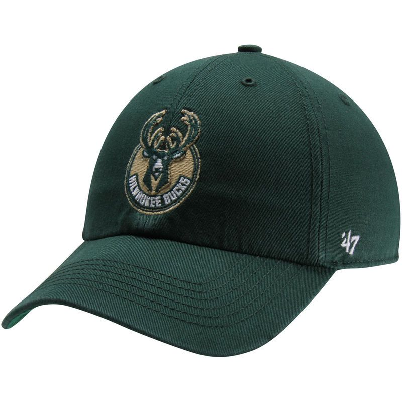 the best attitude 53de6 ba805 Milwaukee Bucks  47 Current Logo Franchise Fitted Hat - Green