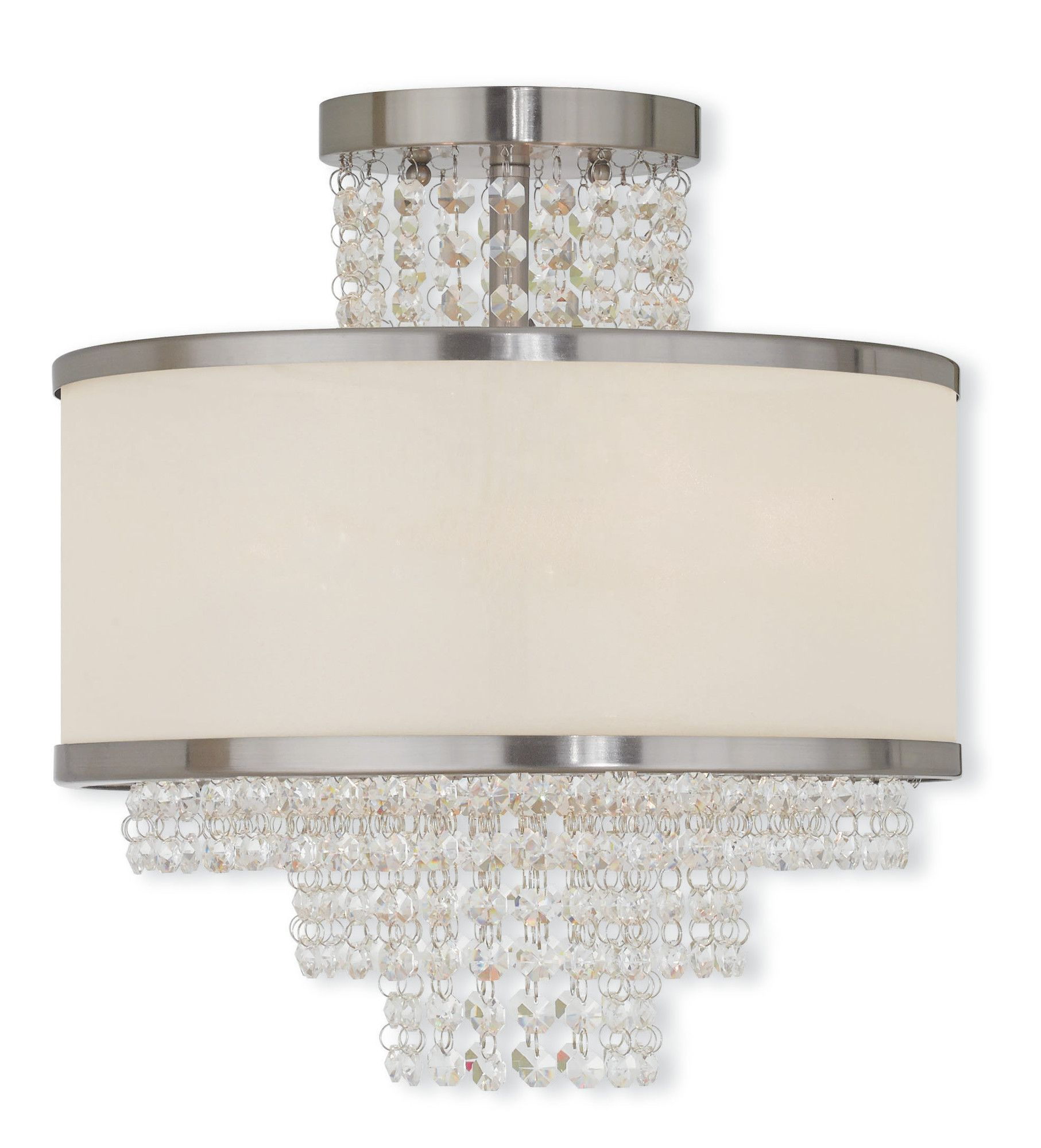 Mac 3-Light Semi-Flush Mount