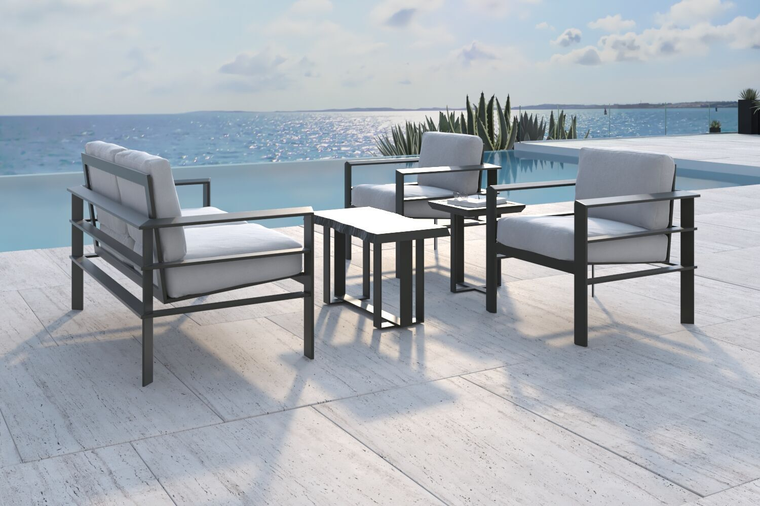 Pin by Castelle on Vertice Collection | Luxury outdoor ... on Fine Living Patio Set id=61817
