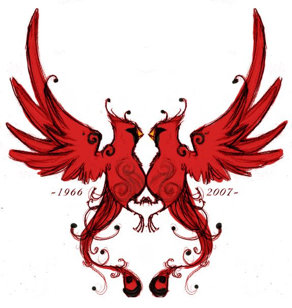 Cardinal Tribal Tattoo | www.pixshark.com - Images ...