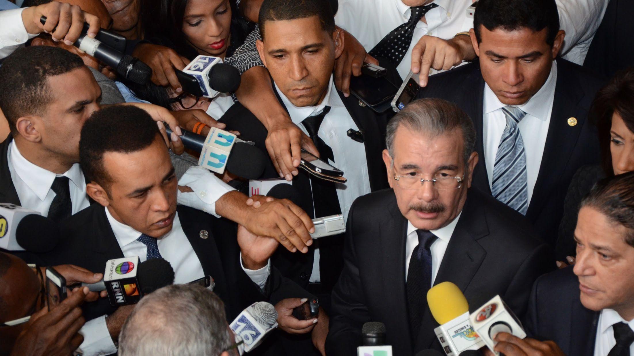 El presidente Danilo Medina llamó a la sociedad dominicana a buscar ...