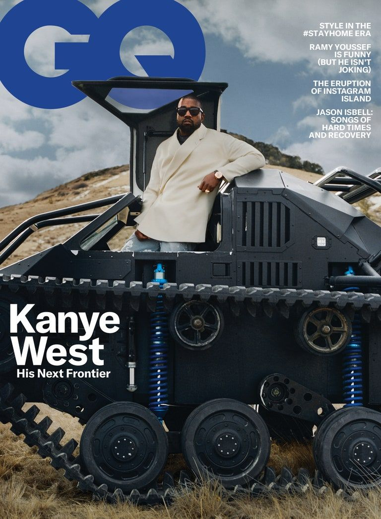 Inside Kanye West S Vision For The Future In 2020 Kanye West Gq Magazine Gq Usa