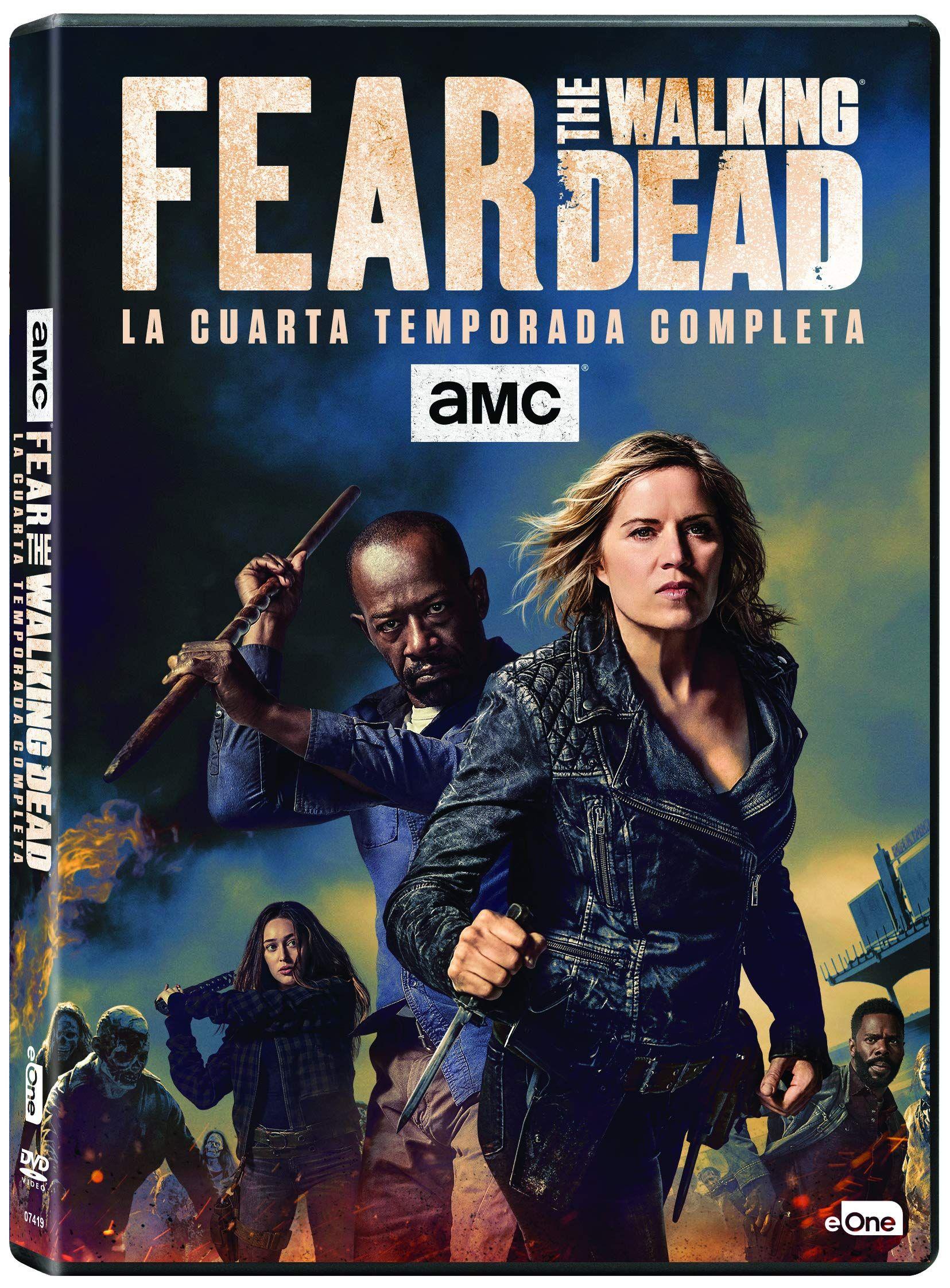 Fear The Walking Dead Temporada 4 [DVD] #Walking, #Fear ...