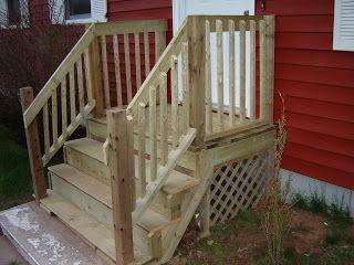 No Budget Handyman: New Front Steps