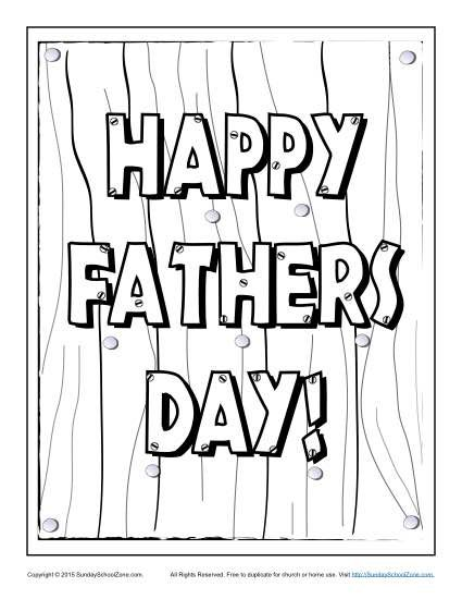 Happy Father S Day Coloring Page Fathers Day Coloring Page