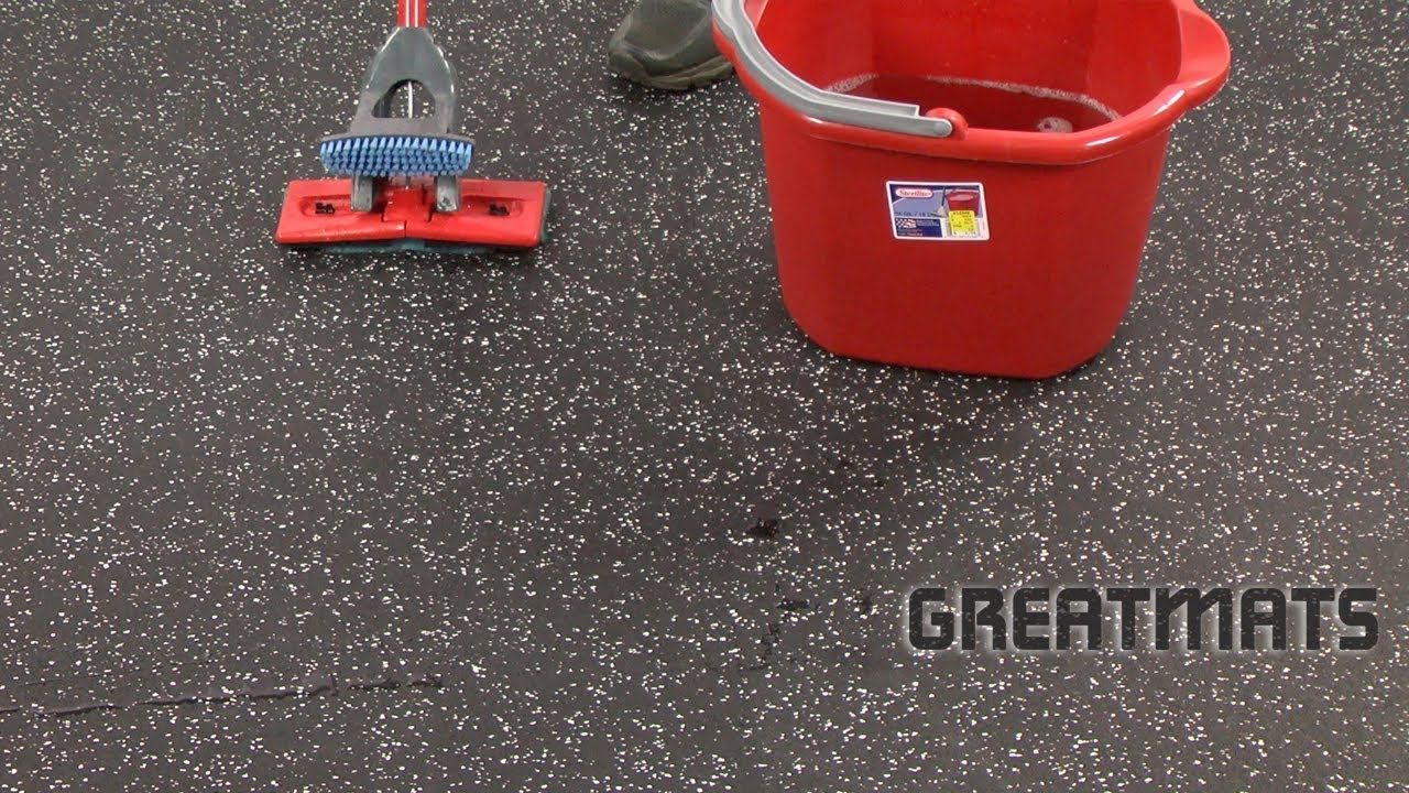 How to clean rubber flooring in 4 easy steps with images