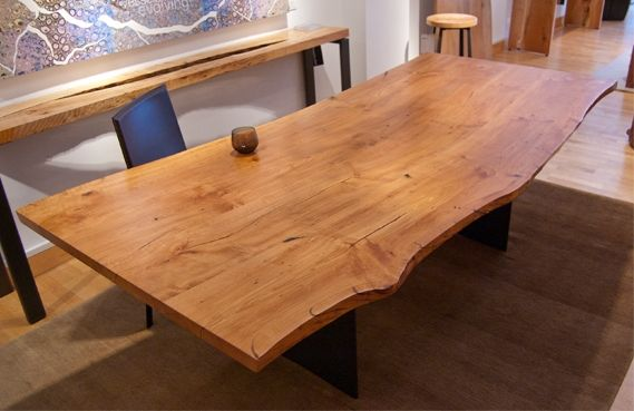 Urban Hardwoods Furniture San Francisco Pacific Madrone Dining Table