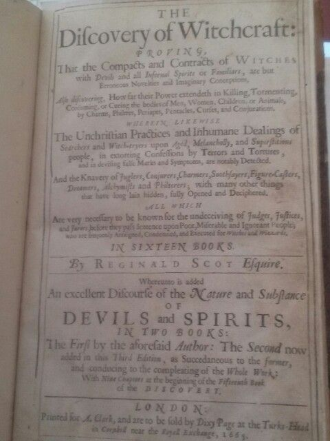 Ancient witchcraft text on Outlander trail in Scotland