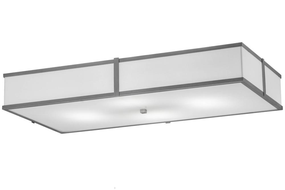 Meyda 174684 48 L Quadrato Oblong Flushmount Light Farmhouse Ceiling Light Meyda Compact Fluorescent Lamps Lithonia fmlwl 48 840