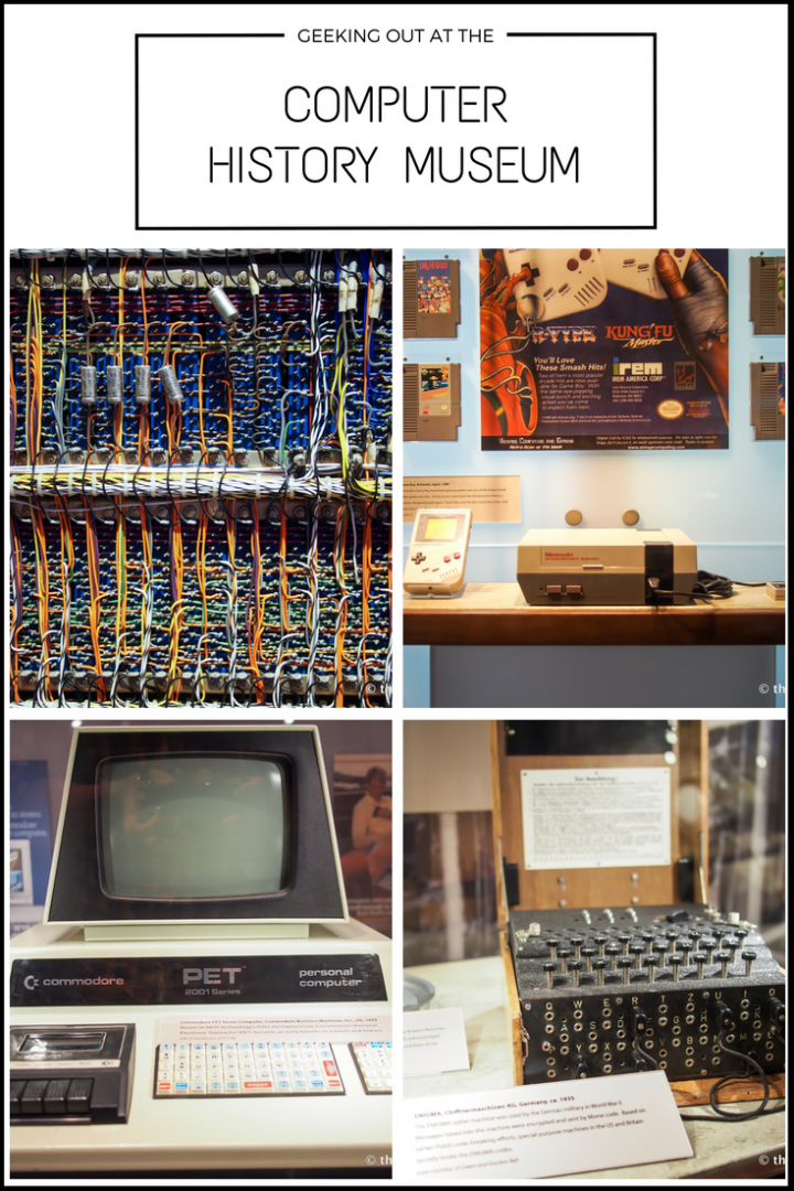 Geeking Out At The Computer History Museum Silicon Valley California Computer History Computer History Museum History Travel