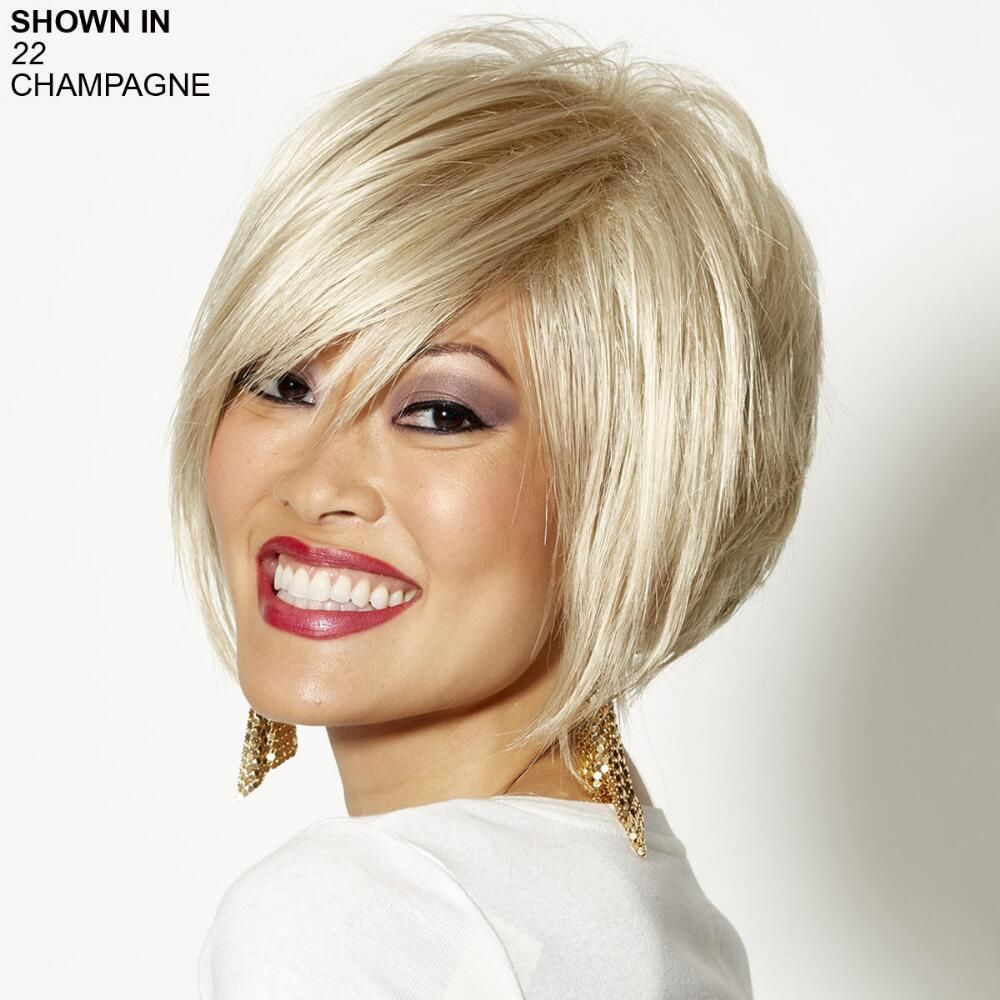 Adele wig by wigshop trendy layered short wig especially
