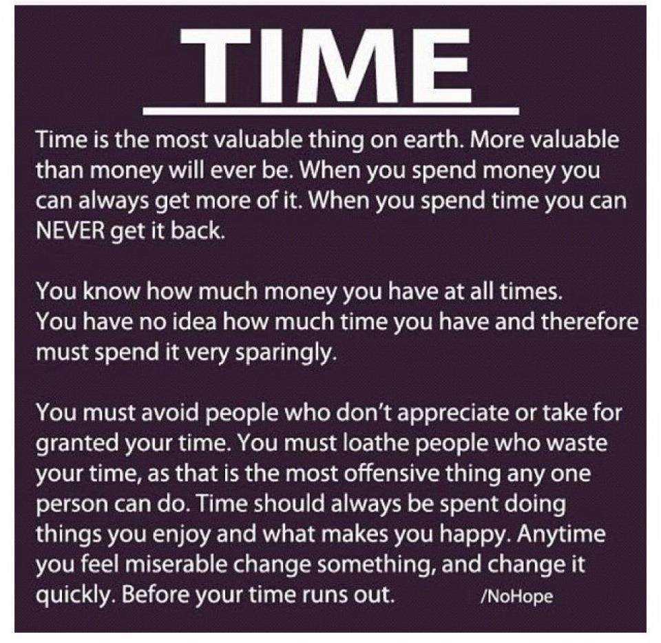 Wasted Time Is Worse Than Wasted Money Quote: Most Meaningful Quotes About Life. QuotesGram