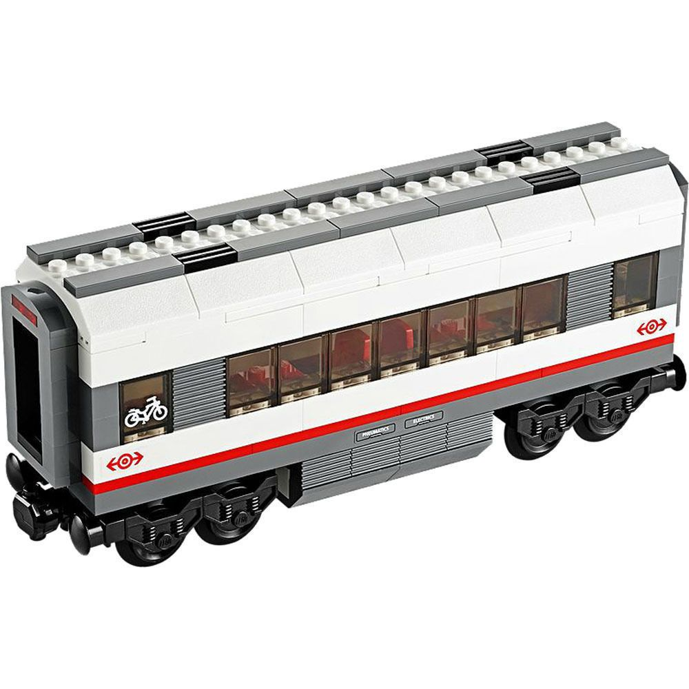 Lego City 60051 High Speed Passenger Train Middle Carriage Car Only New Complete Lego Lego City Lego Trains Building Sets For Kids