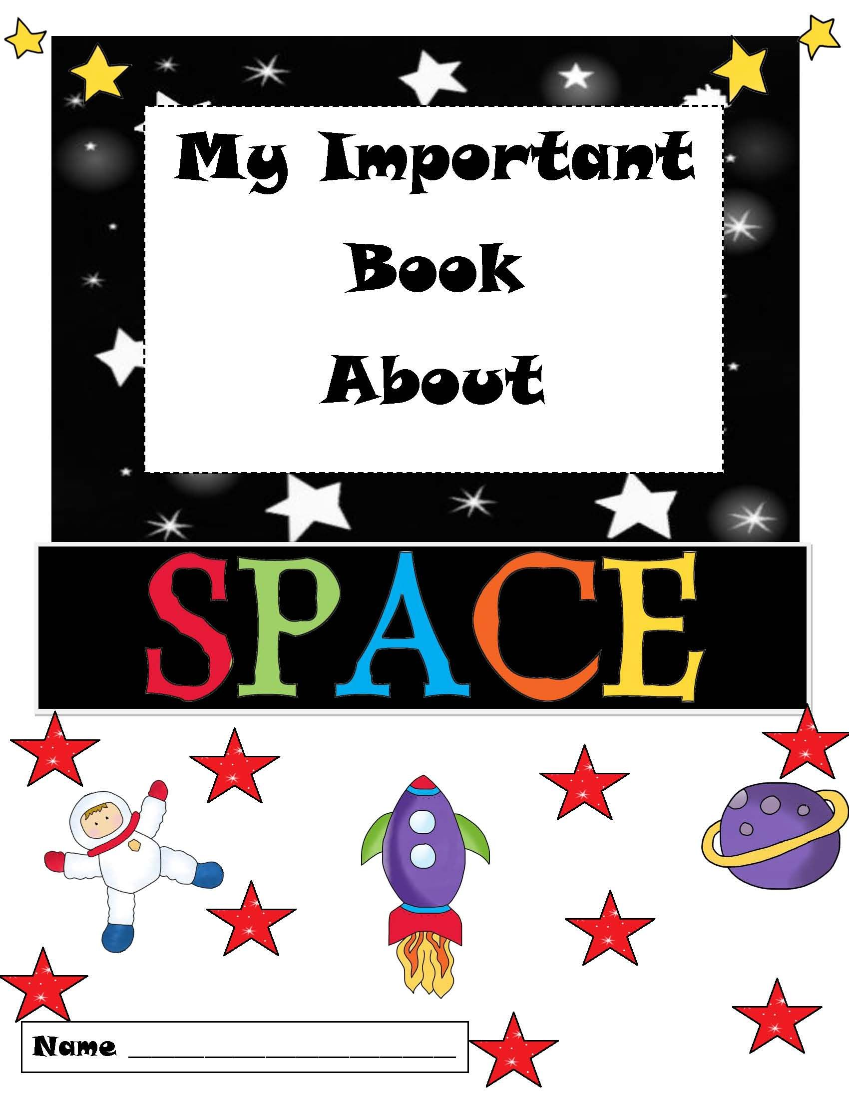 Publishers Tech Girl My Important Book About Space