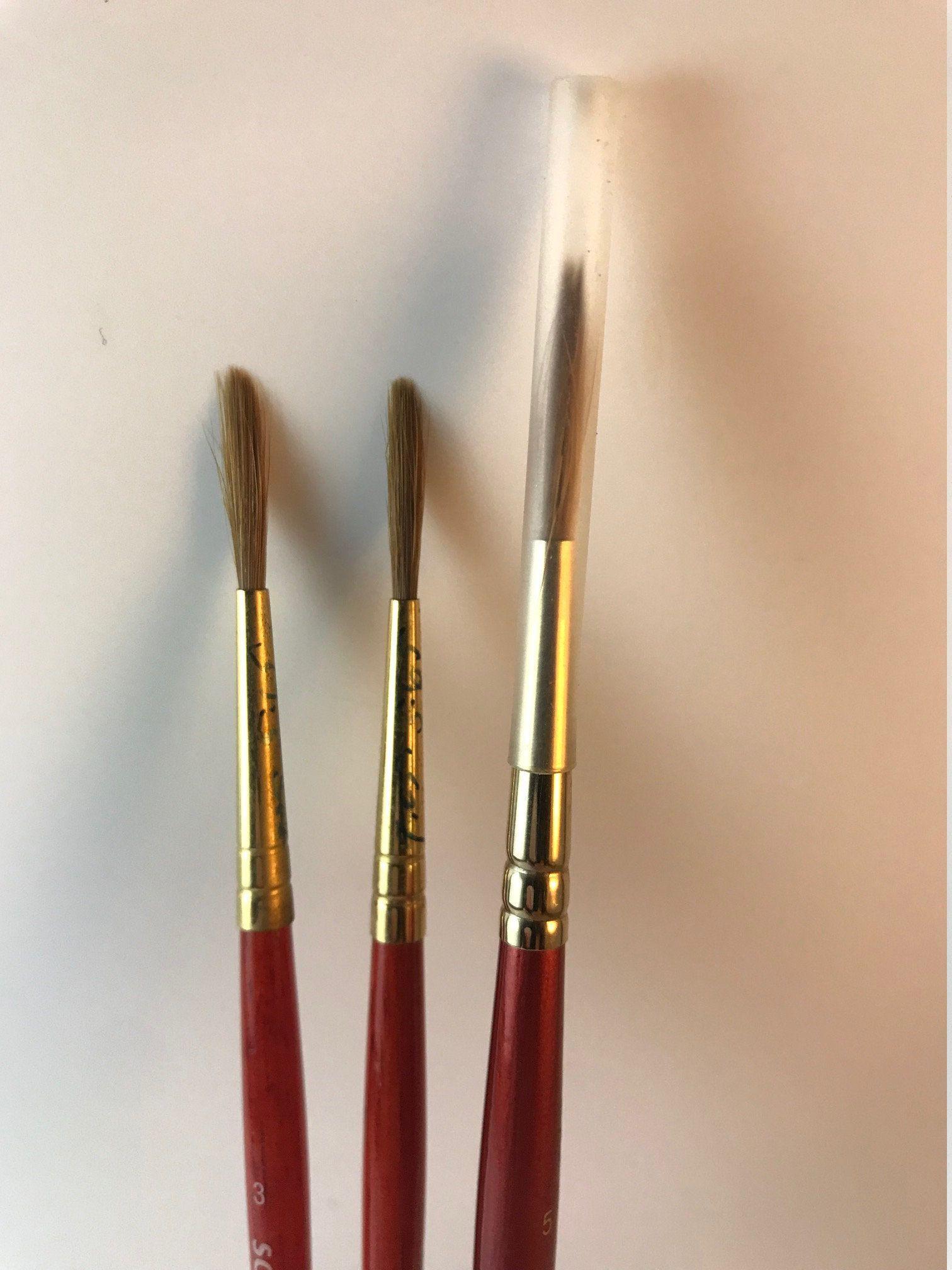 Winsor Newton Septre Gold Ii Series 202 Round Long Handle Etsy Vintage Brush Winsor Newton Paint Set