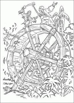 pirates of the caribbean coloring pages # 2