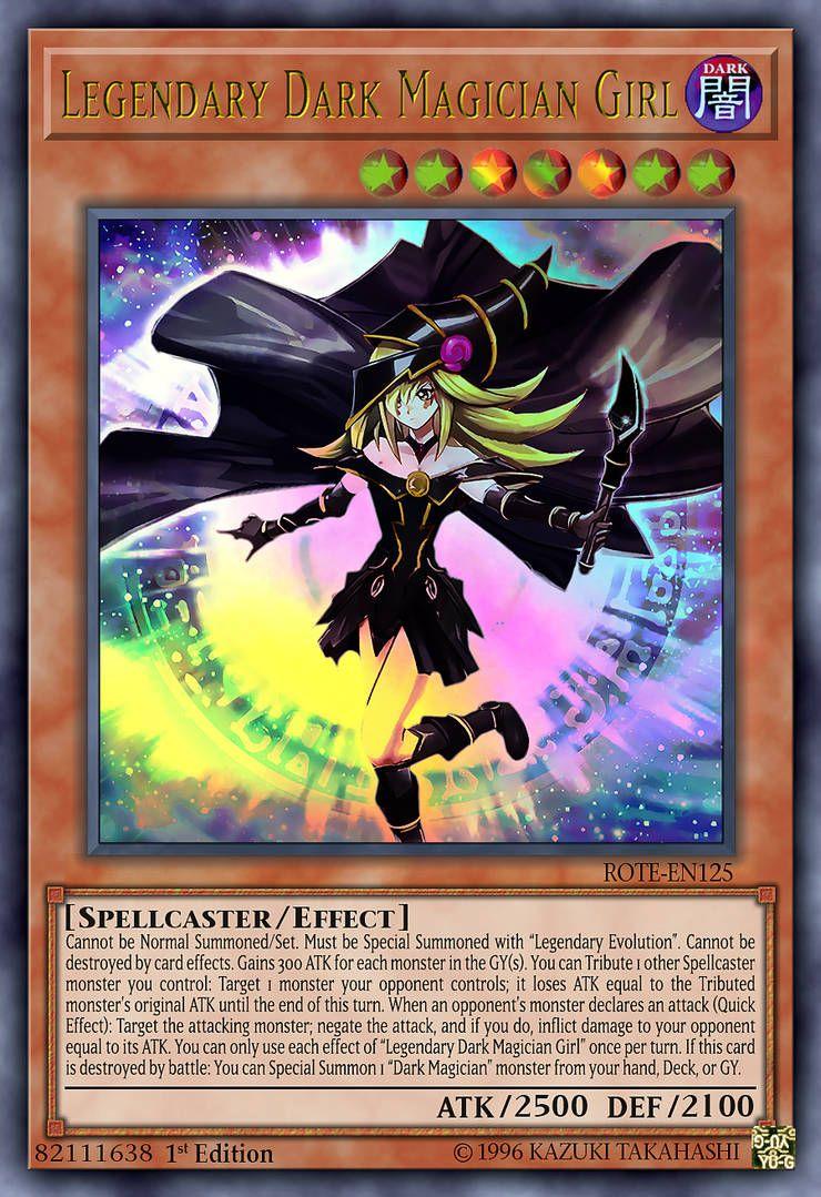 Legendary Dark Magician Girl by