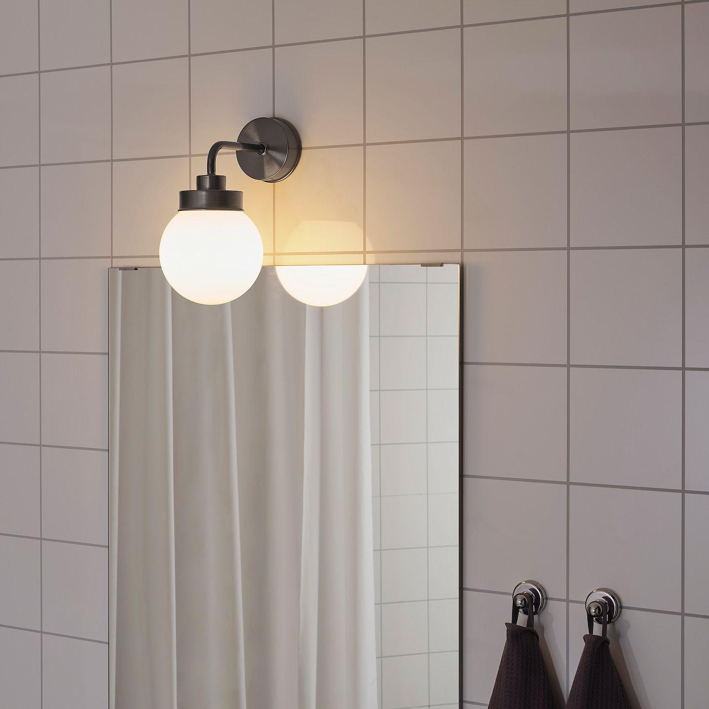 Https Www Ikea Com De De Images Products Frihult Wall Lamp Black