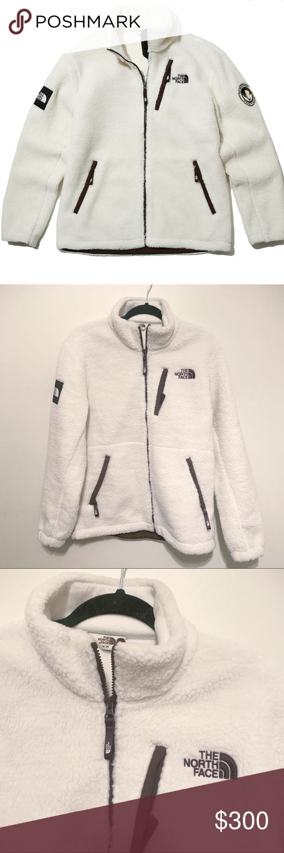 Rare White Label The North Face Rimo Fleece Jacket Fleece Jacket Jackets North Face Jacket [ 1740 x 580 Pixel ]