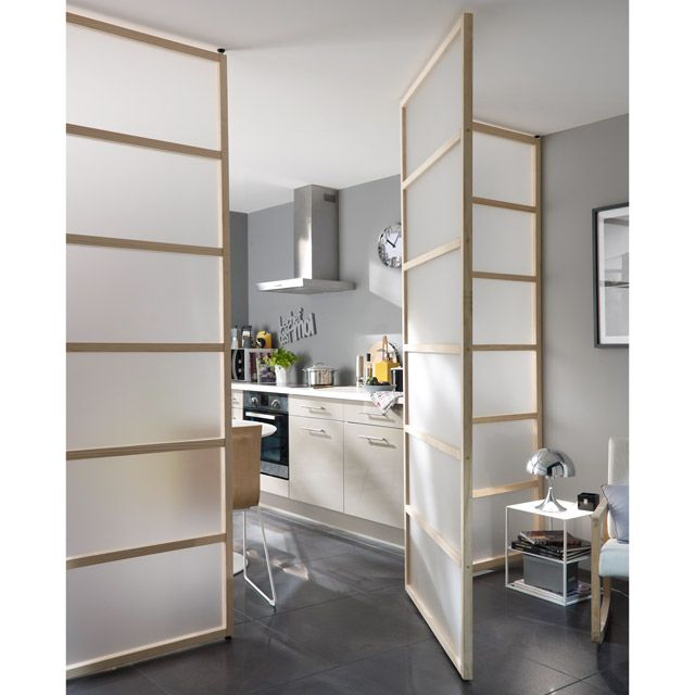 Cloison 3 en 1 pin Icosa | Interiors, Studio and Divider