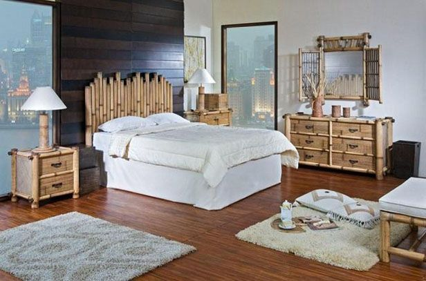 Bamboo Bedroom Furniture Sets