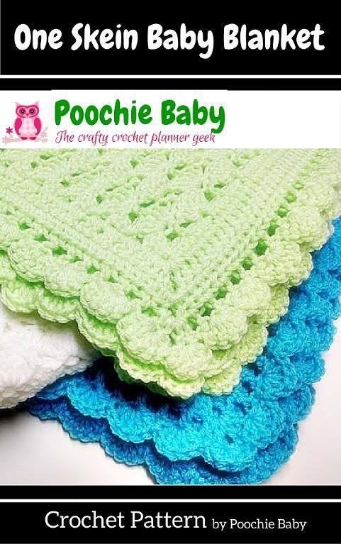 How to Make a Quick Crochet Blanket   Manta, Tejido y Manta bebé