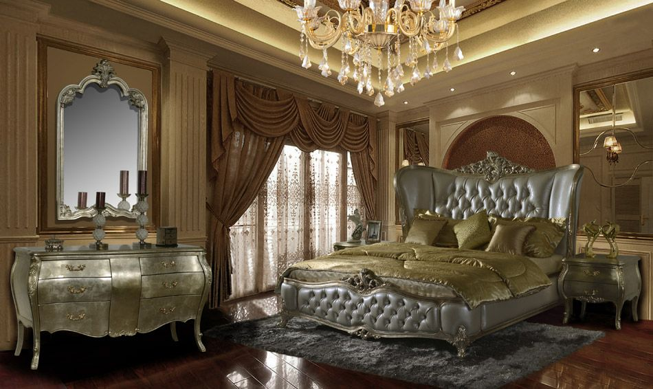 5 Pc Queen Elizabeth Ii Renaissance Style Queen Bedroom