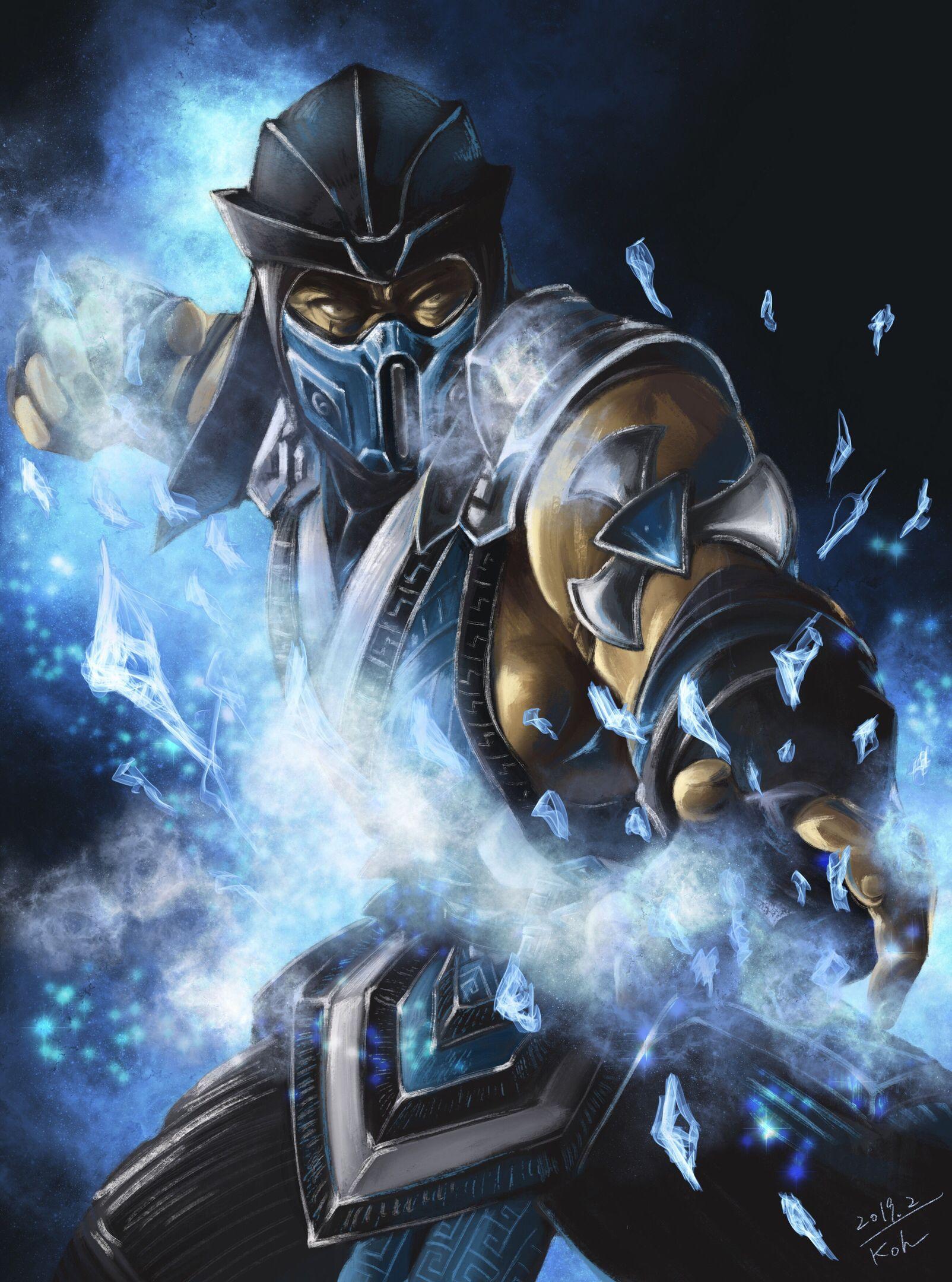 Mortal Kombat 11 SubZero By KouYoshikawa Sub zero