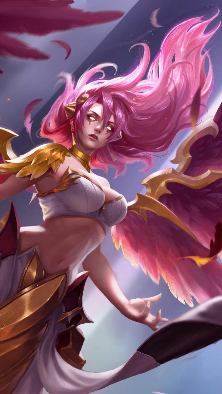 Lauriel Skin Phoniex L Aov Pinterest Fantasy Fantasy Girl And Game Character