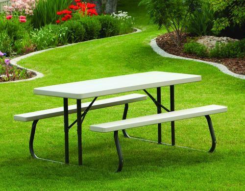 Resin Folding 5 Picnic Table At Menards Picnic Table