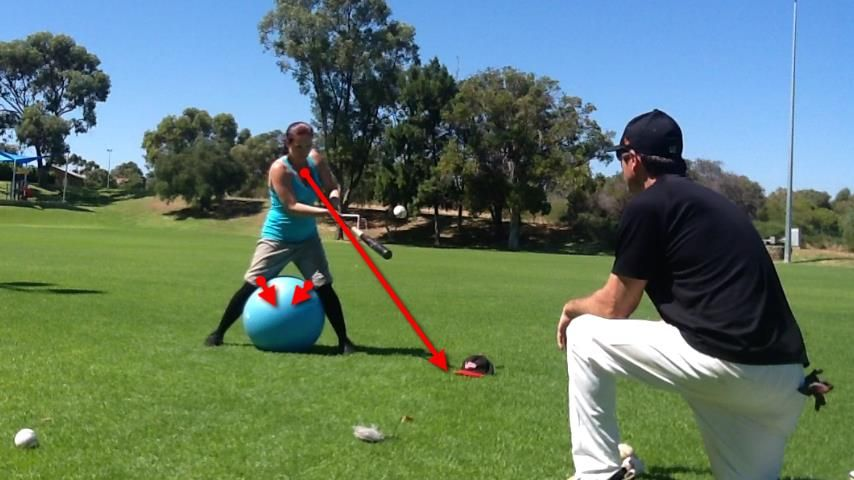 Great drill for kids learning to hit for the first time