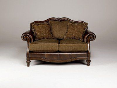 Antique Loveseat by Ashley Furniture Famous Brand Furniture