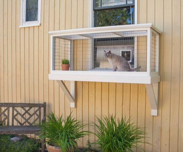 It's Easy to Build a DIY Catio for Your Cat! - Catio Spaces