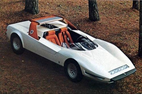 1968 Pininfarina Alfa Romeo P33 Roadster