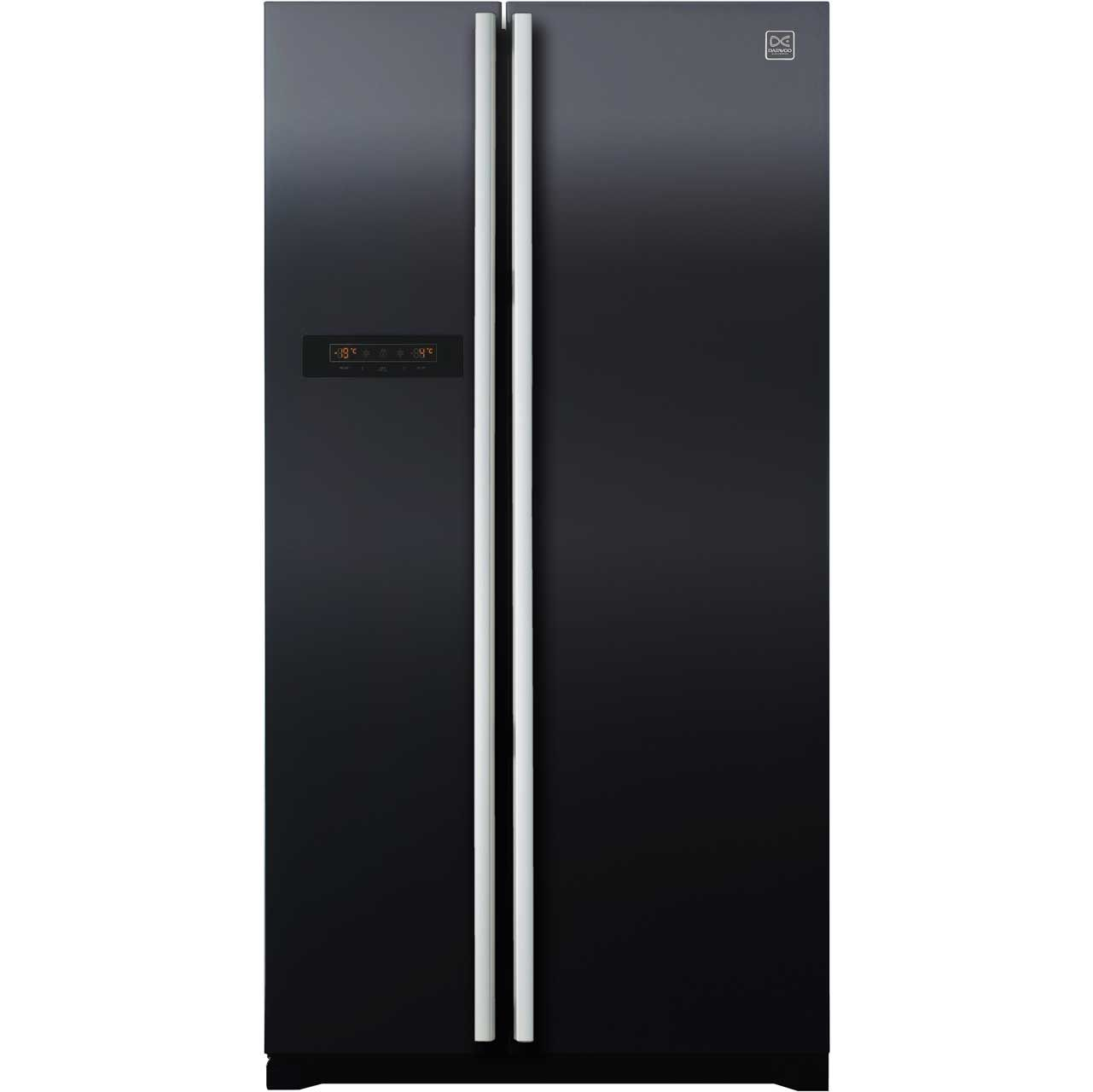Daewoo FRAX22B3B American Fridge Freezer - Black | Kitchen ...