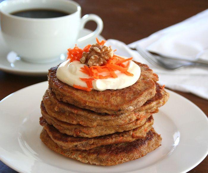 Carrot Cake Pancake!