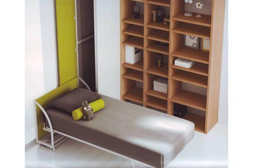 Cama abatible con sistema lateral montada proyectos que - Sistema cama abatible ...