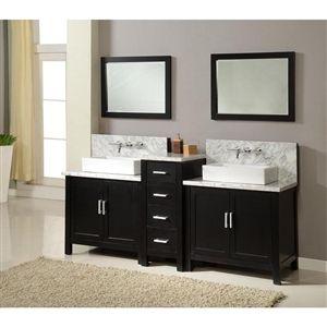 19++ Modern bathroom vanity cabinet 70 inch model