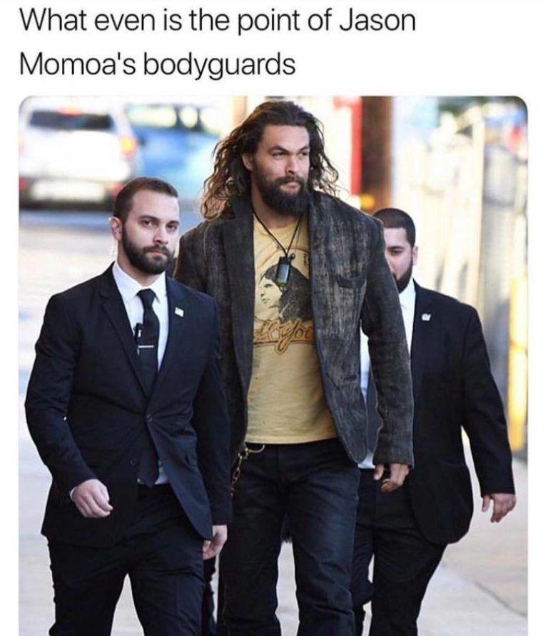 Jason Momoa College: Funny Memes, Jason
