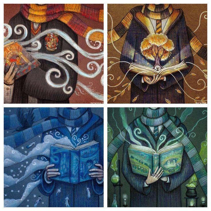Harry Potter Book Art Hogwarts Cool! Wonder wh...