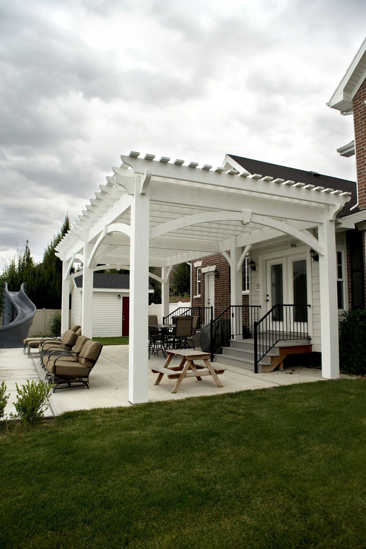 Winning Wow White Poolside Pergola Outdoor Pergola Pergola Pergola Patio