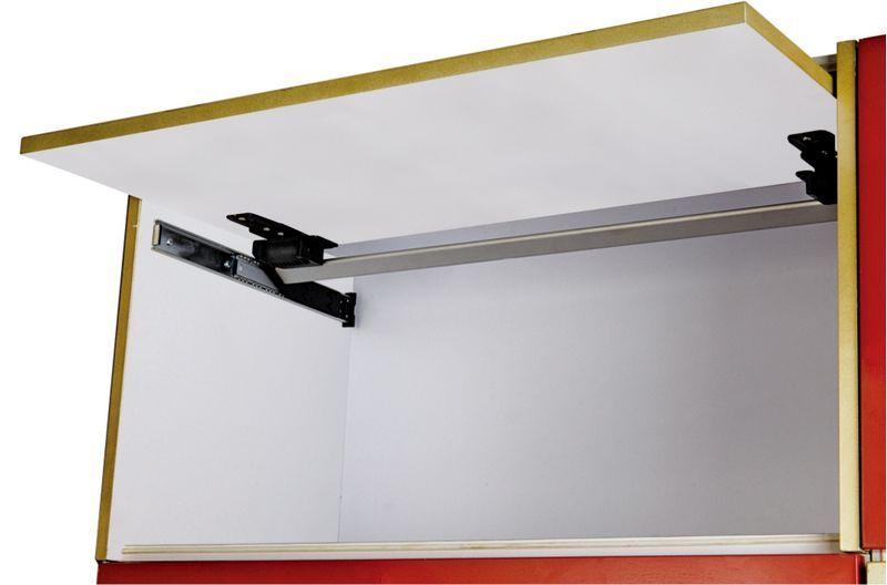 YS336 B Cabinet Door Upward Smooth Slide Track Opening To 90