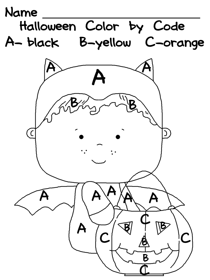 Kindergarten Halloween Worksheet Pack Halloween