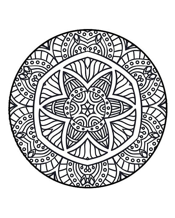Coloring Pages Adult Coloring Pages by StressFreeColoring on Etsy ...
