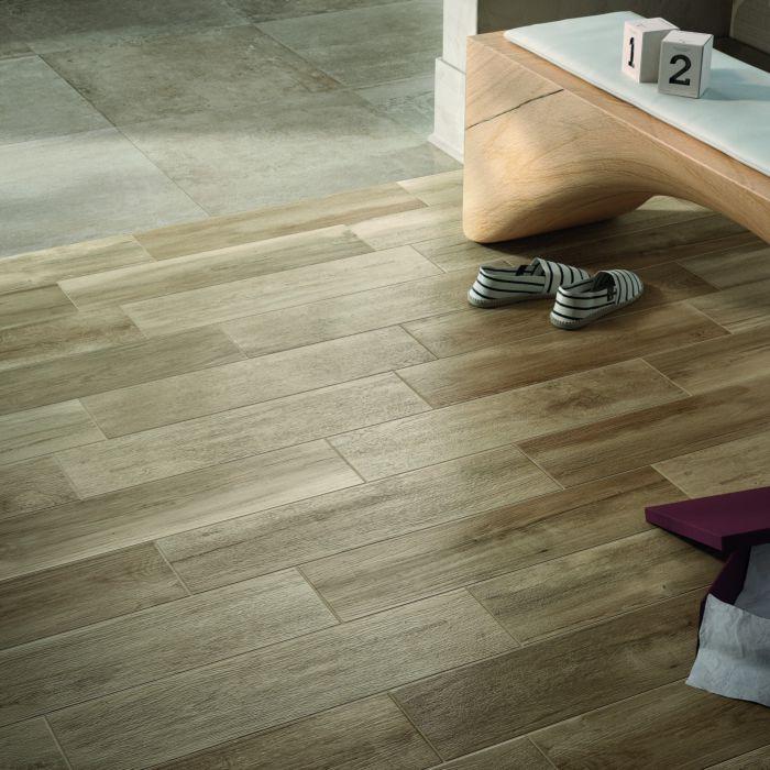 Albero Tan Wall & Floor Tile 150 x 600mm in 2020 Tan